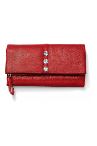 Nolita Shimmer Large Wallet in 2 Colors