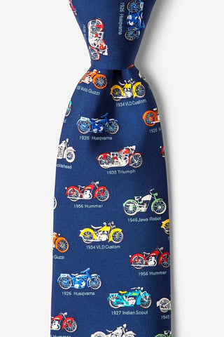 Classic Motorcycle Tie