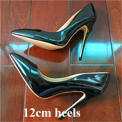 Pointed Top Quality High Heels Shoes 2017 Women Pumps