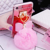 Mirror Bowknot Phone Case For iphone 7 6 6S Plus