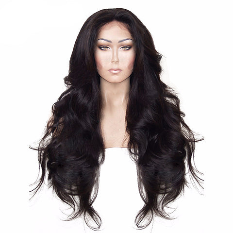 High Temperature Fiber Hair Natural Hairline