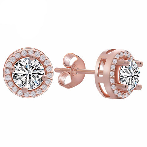 Womens Girls 2017 Elegant Effie Queen Studs stone