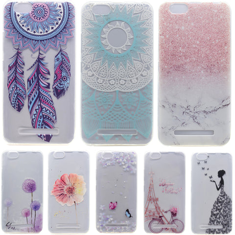 Soft TPU Patterns Case