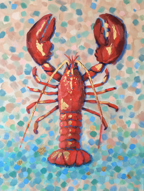 Lobster & Seaglass