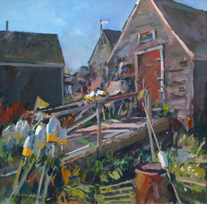 Fishhouses, Monhegan