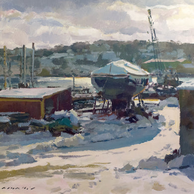 Winter Boatyard