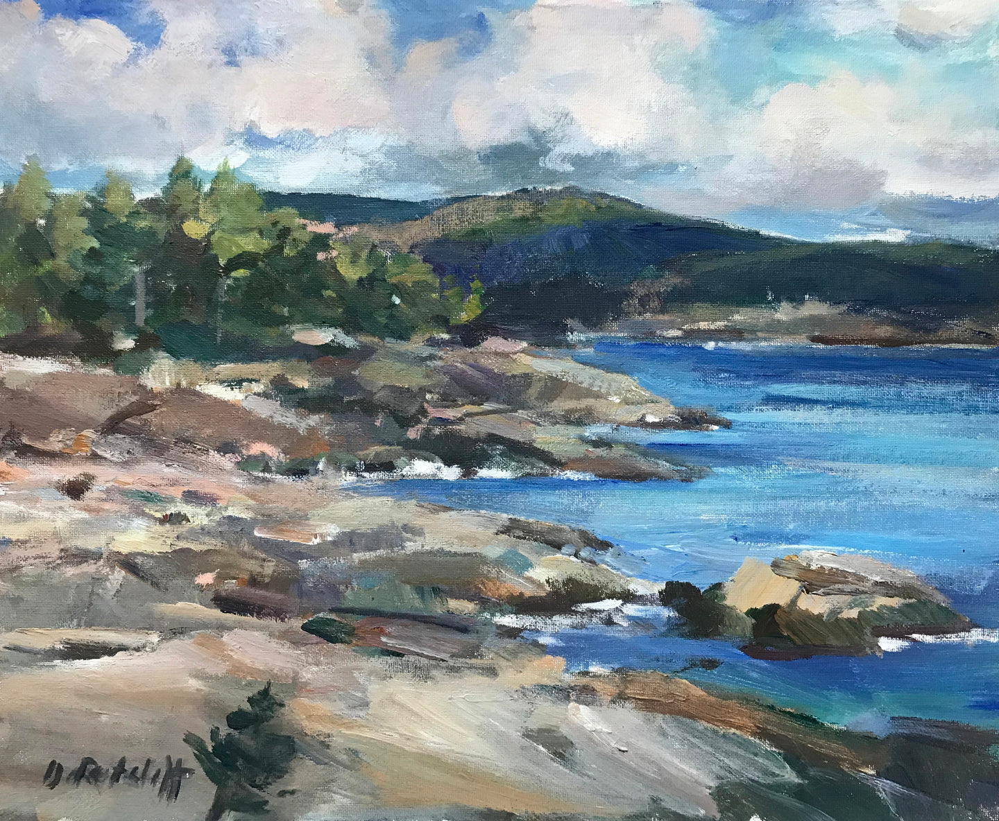Acadia Cloud Shadows