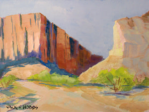 Entrance Santa Elena Canyon