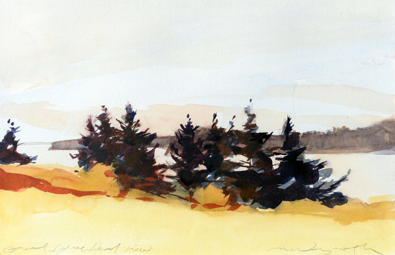 Late Summer, Great Spruce Head Island