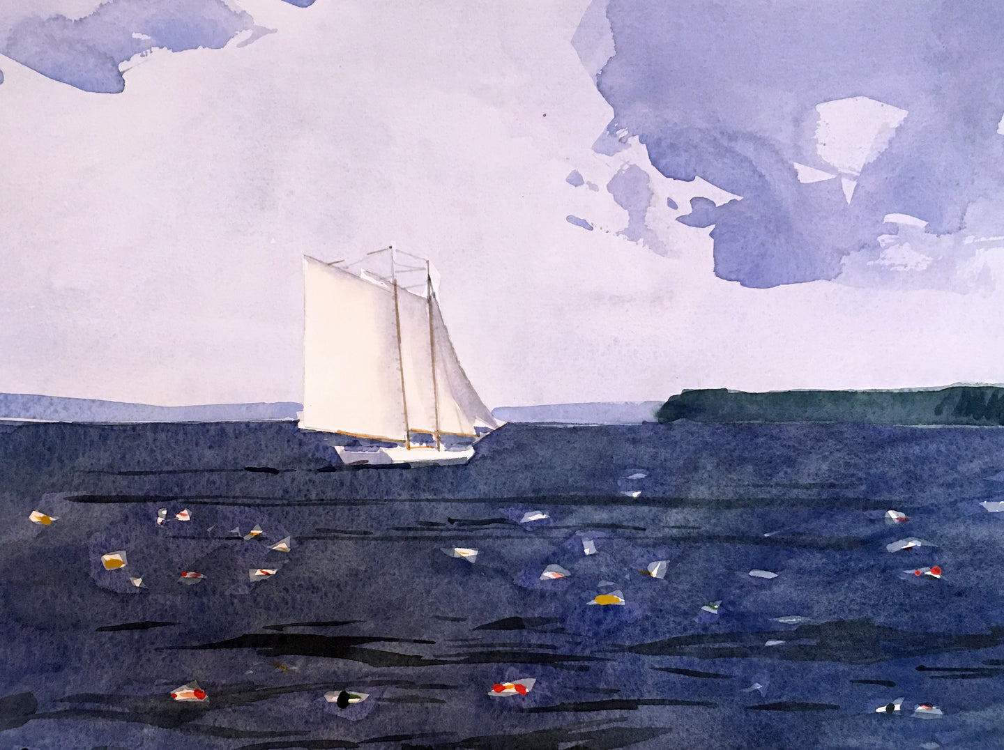 Windjammer, Penobscot Bay