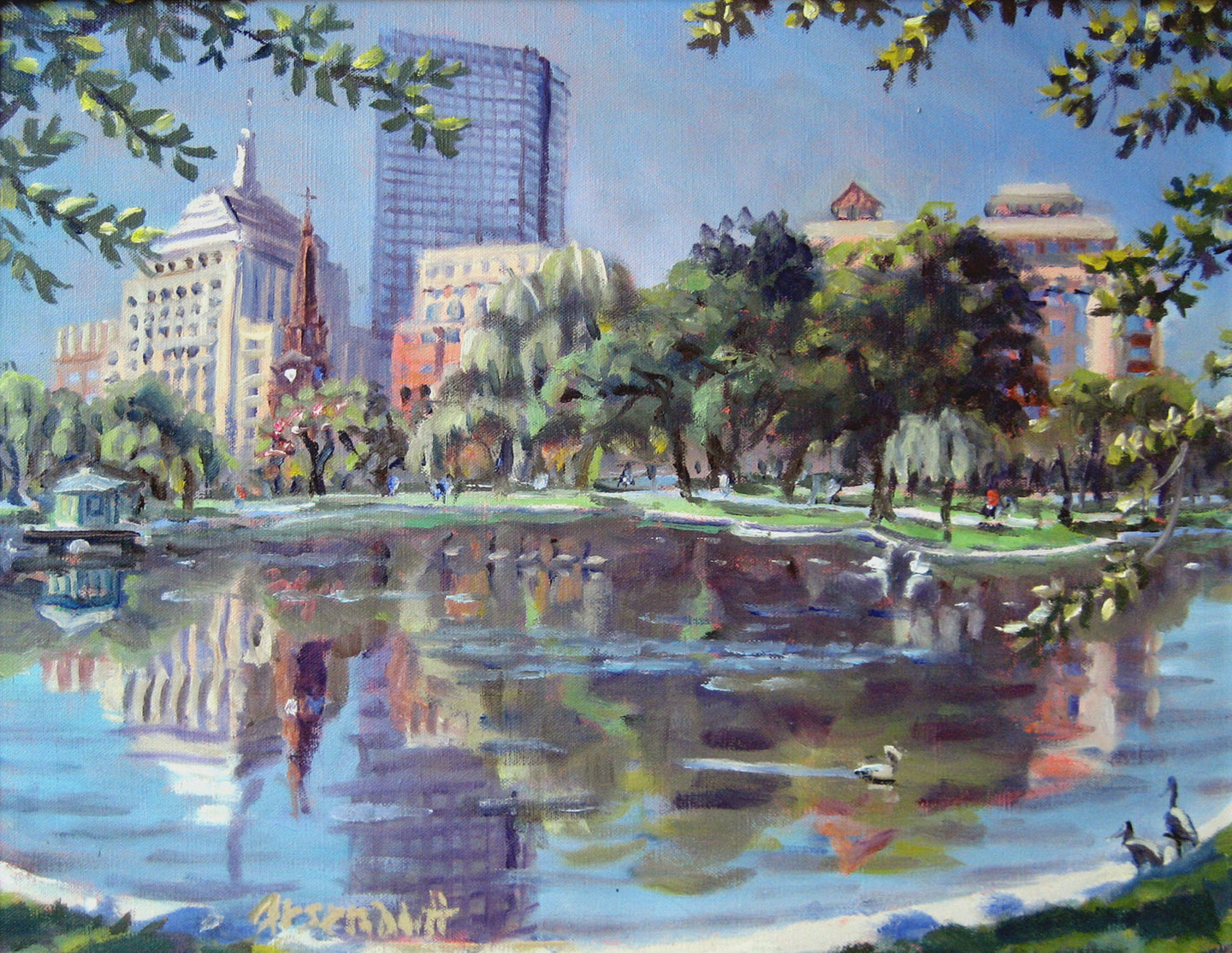 Reflections, Boston Public Garden