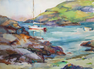 Waiting to Sail, Monhegan