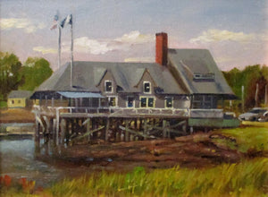 Cohasset Yacht Club Low Tide