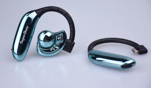 SuperDuty Eclipse HD Bluetooth Headset (Cool Blue)