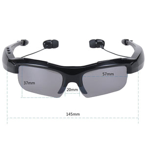 Bluetooth uv sunglases glasses headphones wireless stereo music headset micphone