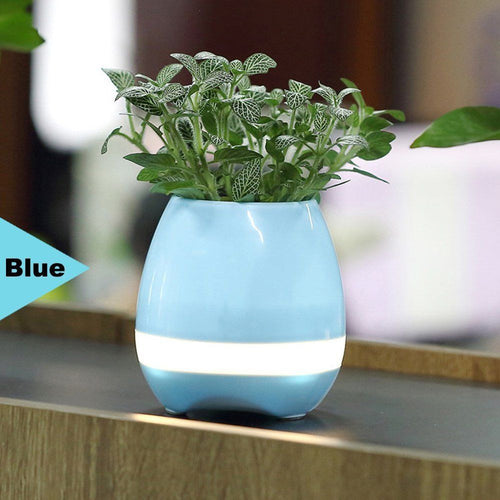 Super Bluetooth Piano FlowerPot (Blue)