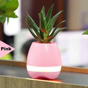 Super Bluetooth Piano FlowerPot (Pink)