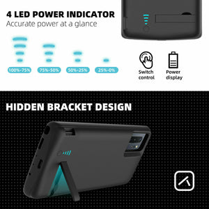 For Samsung Galaxy S20/S20+ Battery Charging Case External Power Bank Back Up Charger