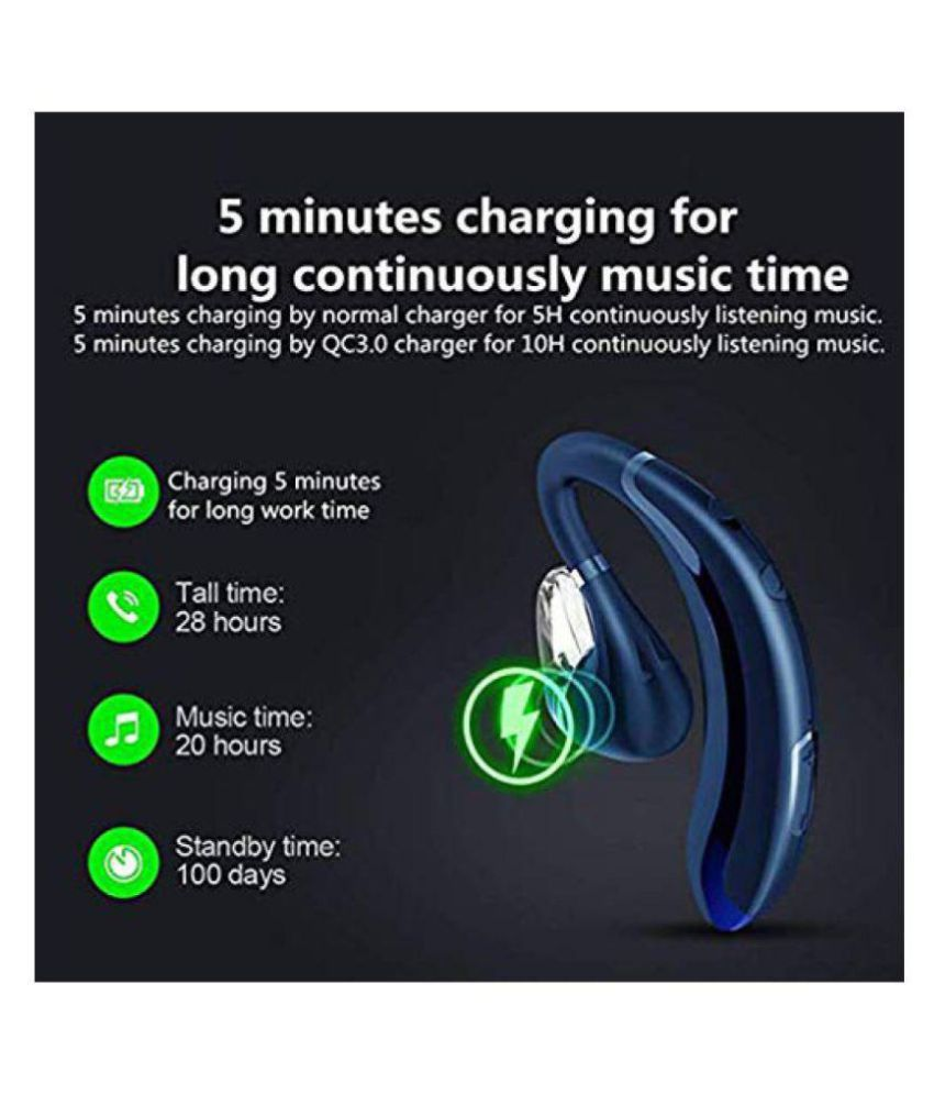 Superduty Super Fast Charging Bluetooth Headset 20 Hours Superduty Products