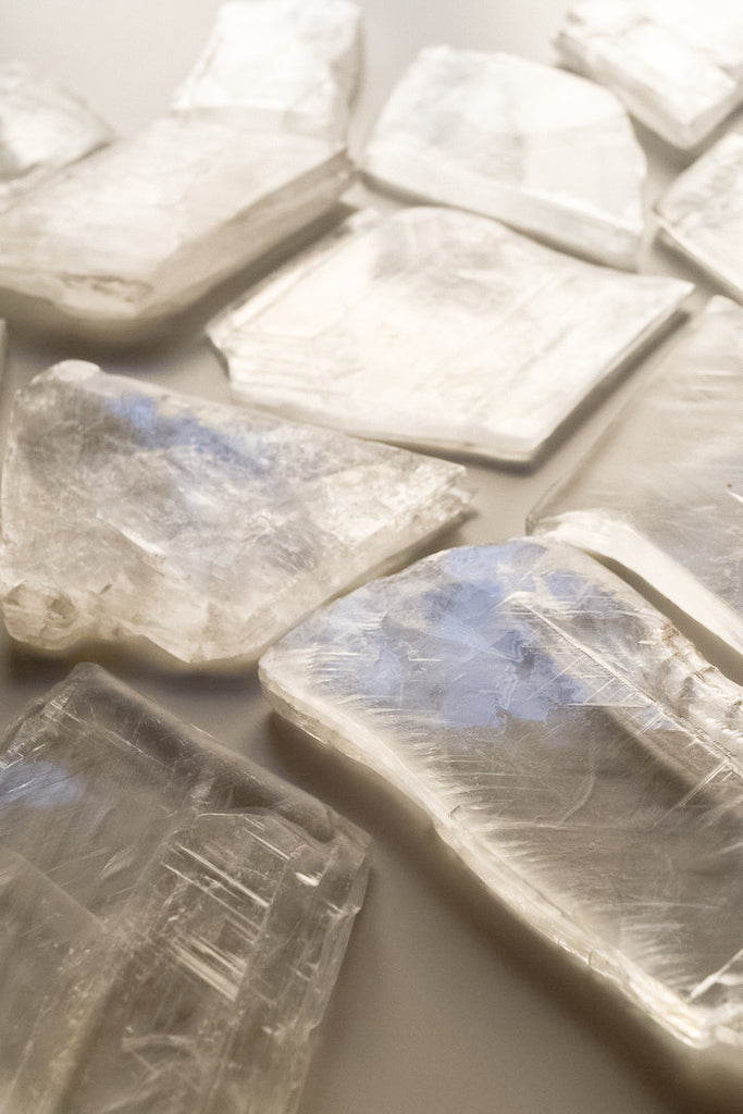 Selenite Raw Crystal Plates