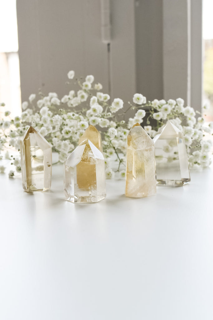 Citrine Towers - Natural Polished