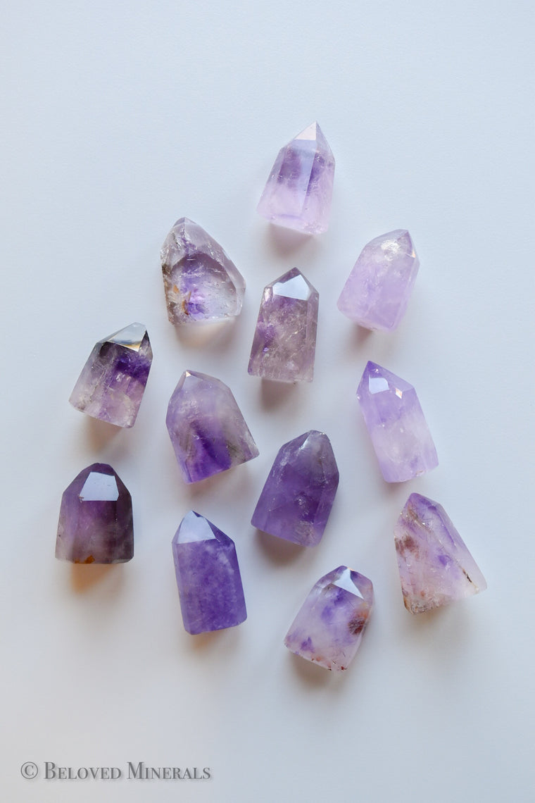 Amethyst Crystal Towers