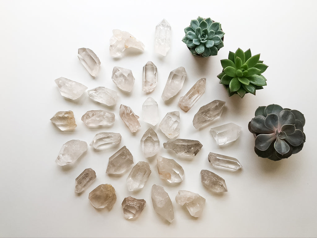 Quartz Crystals - Raw Natual Points