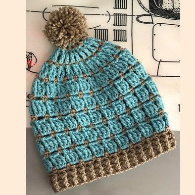 Ewe Ewe Yarns | Wooly Windows Crochet Hat Kit