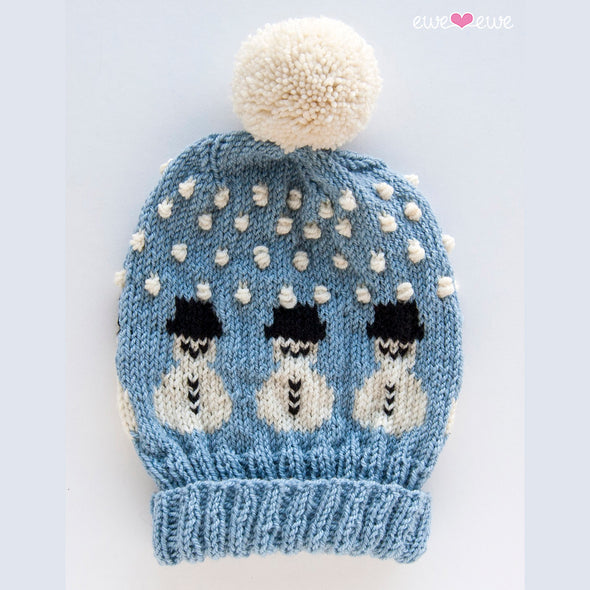 Ewe Ewe Yarns | Snowy The Snowman Hat Kit