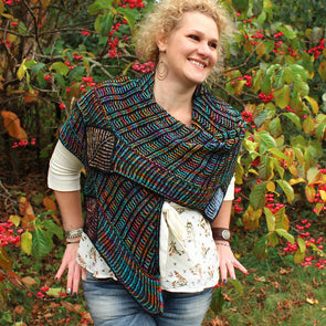 Brew City Yarns | Crossroads Brioche Shawl Kit
