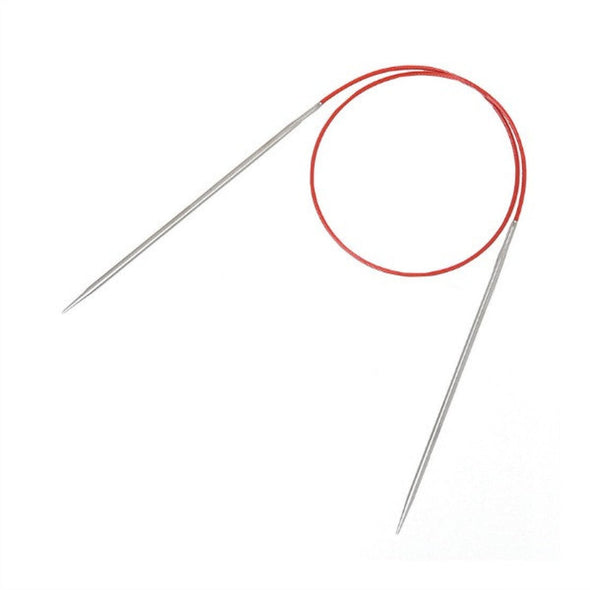 "ChiaoGoo | Steel Fixed Circular Knitting Needles 24"" Inch"