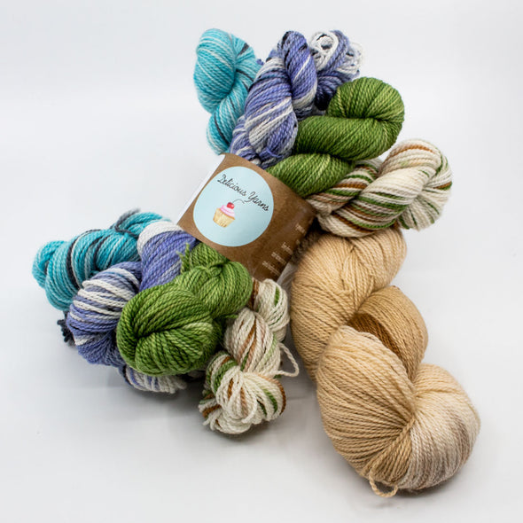 Delicious Yarns | Opaline Wrap Kit