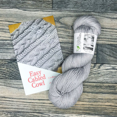 Easy Cabled Cowl Class