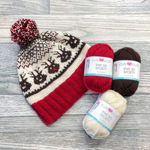 Ewe Ewe Yarns | Head to the Sleigh Kit