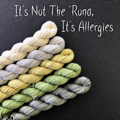 Forbidden Fiber Co. | It's Not The Rona, It's Allergies Mini Set
