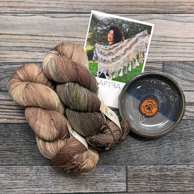 Forbidden Fiber Co. | Afifa Shawl Kit