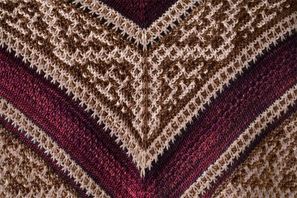 Urth Yarns | Meet Me at Midnight Shawl