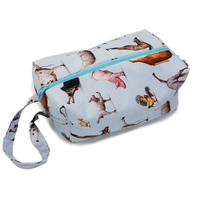 Tika Bags Box Bag - Yoga Animals