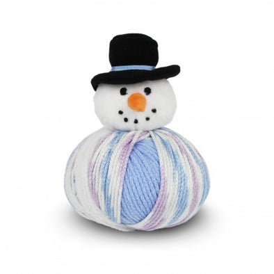 DMC Top This! create the perfect Christmas gift plush snowman holiday themed character