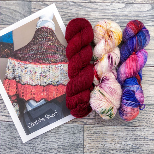 Zen Yarn Garden | Cordoba Shawl Kit