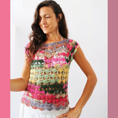 Urth Yarns | Beija Flor Crochet Top Kit