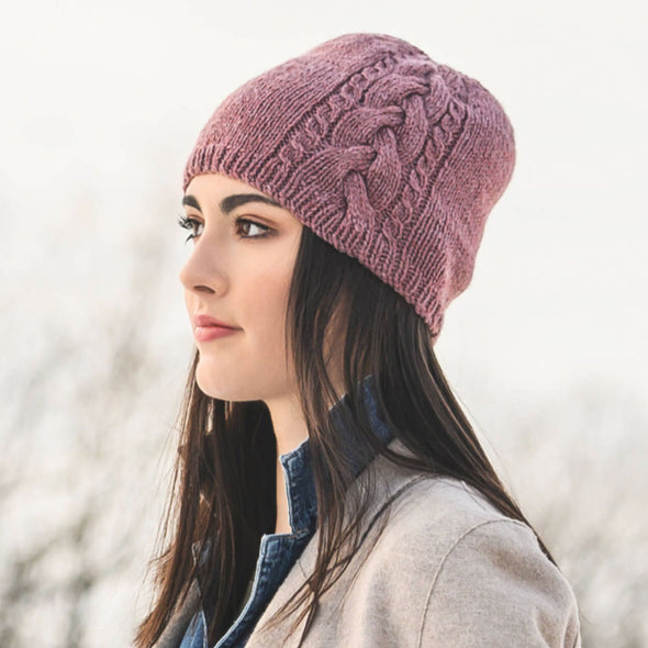 Blue Sky Fibers | Claremont Cabled Hat Kit