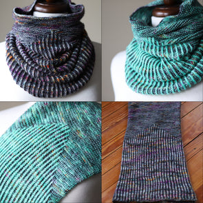 Stitch Together Studios | Garter Snake Cowl Kit