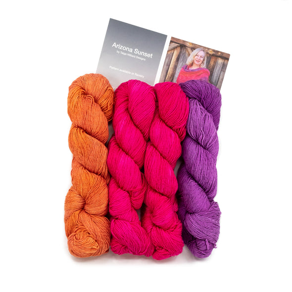 Canyon Arizona Sunset Shawl Kit