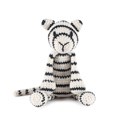 Toft | Prince the White Tiger Crochet Kit