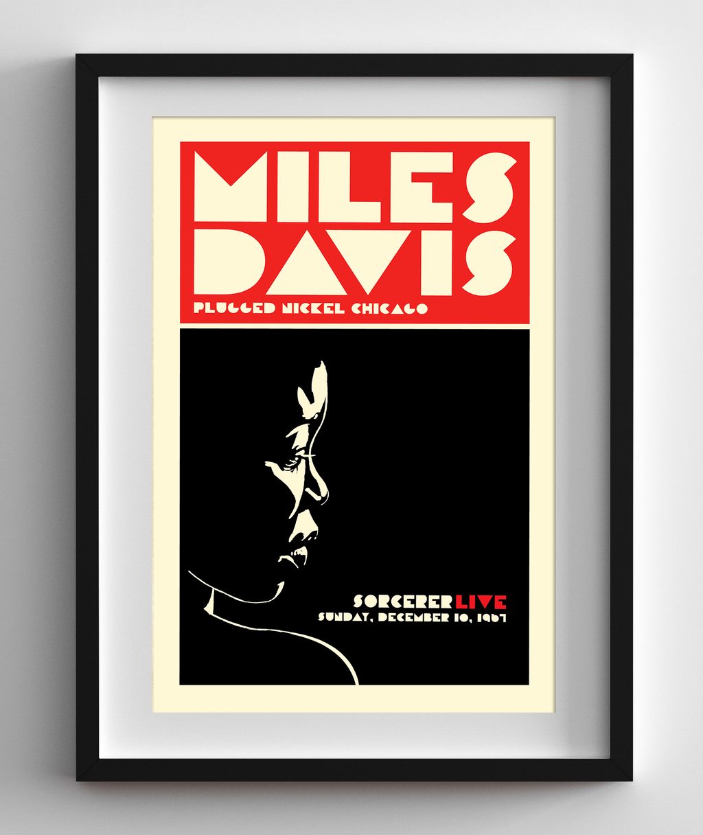 Miles Davis Live at the Plugged Nickel Chicago, 1967 Concert Print