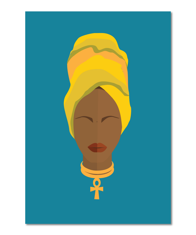 Erykah Badu Original Icon Print (Icon Series)