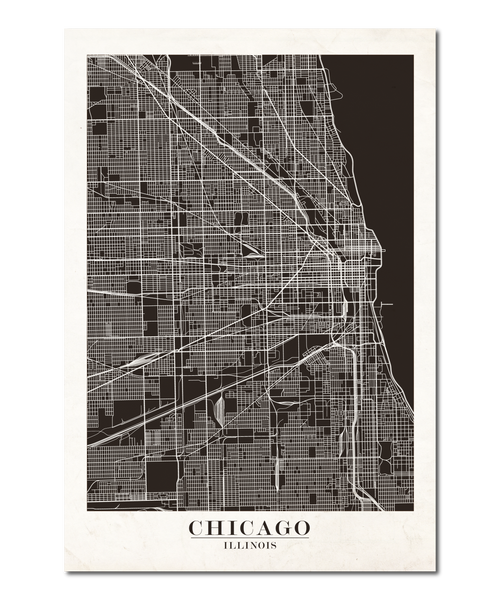Chicago Map Design