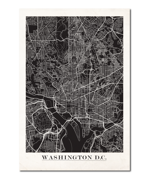 Washington D.C. Map Design