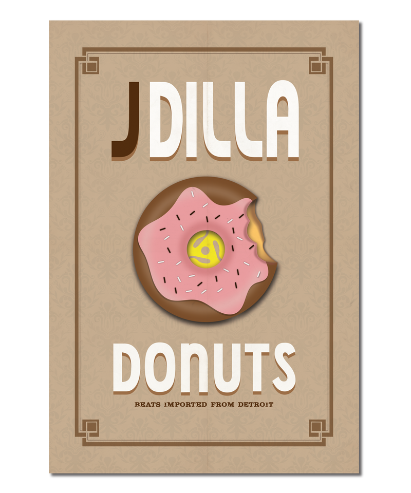 Original Print Inspired by J Dilla